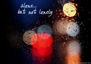 Image result for alone but never lonely
